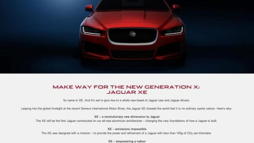 Jaguar confirms 2015 XE will receive F-Type's V6 engine