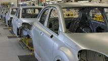 Fiat 500X production body