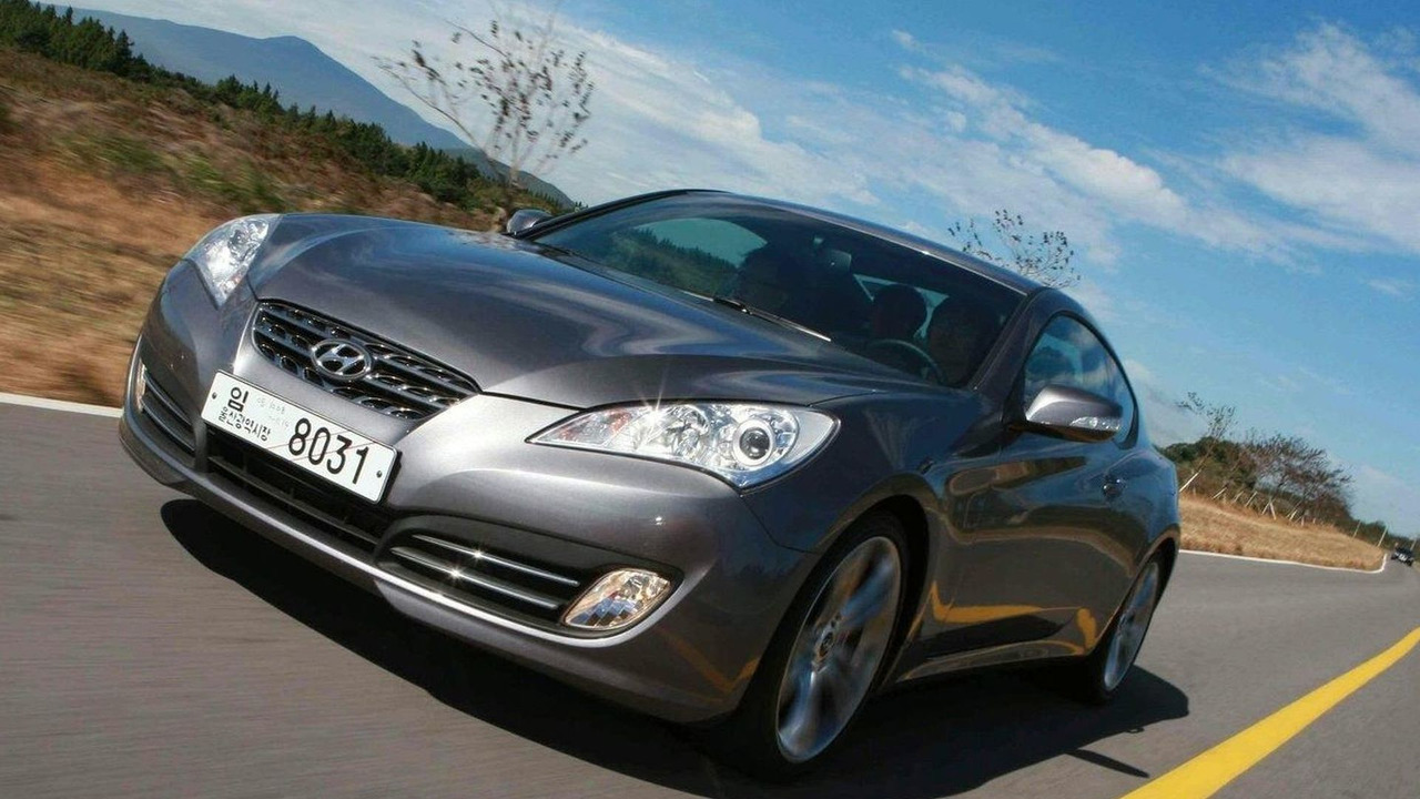 Hyundai Genesis Coupe Market Launch in Korea