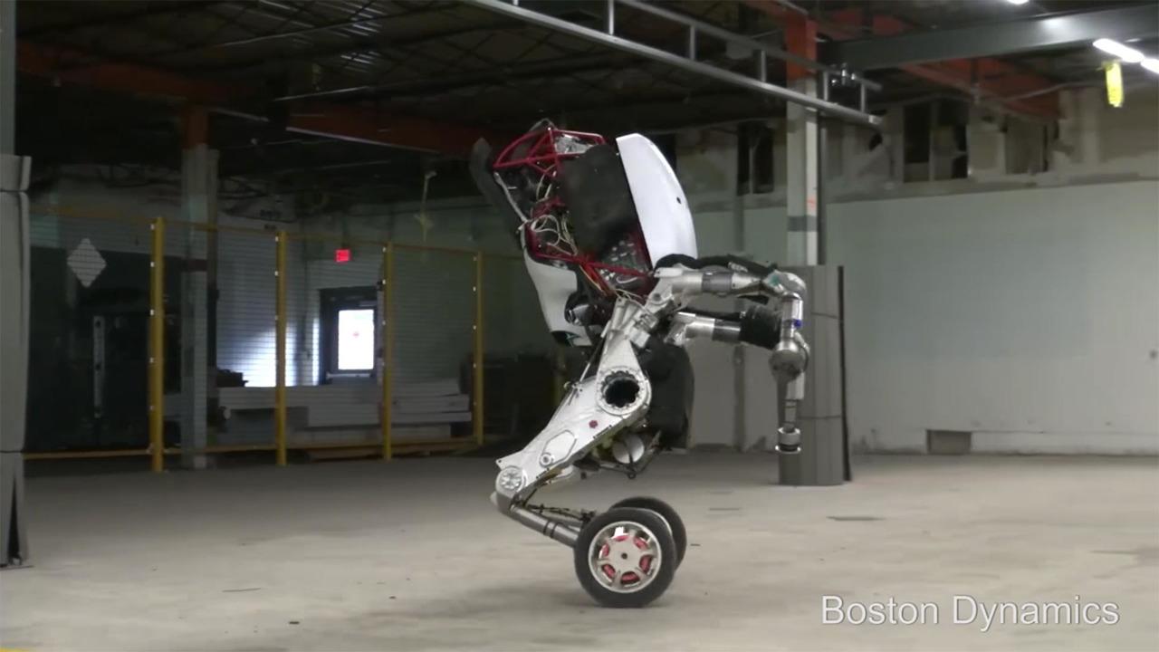 Boston Dynamics Handle