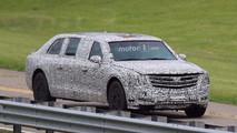 New Cadillac Presidential Limo Spy Photos