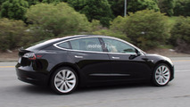 Tesla Model 3 Photos espion