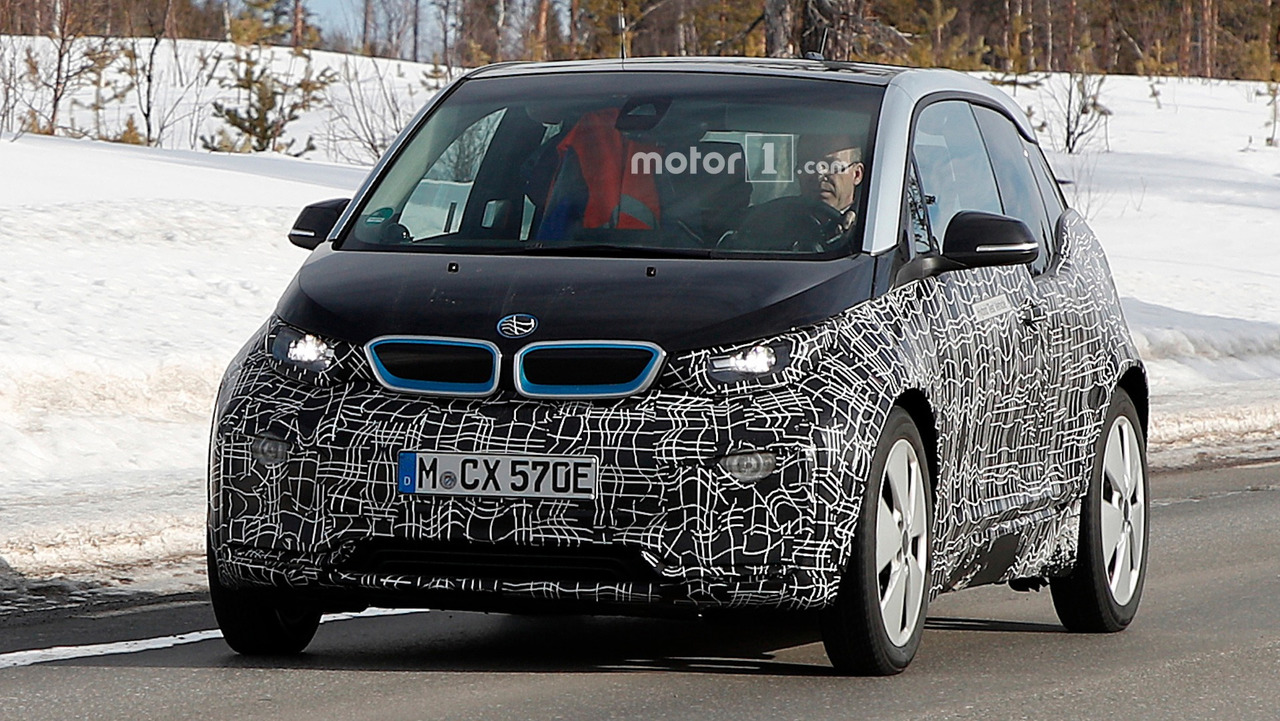 BMW i3 Facelift Spy Shots