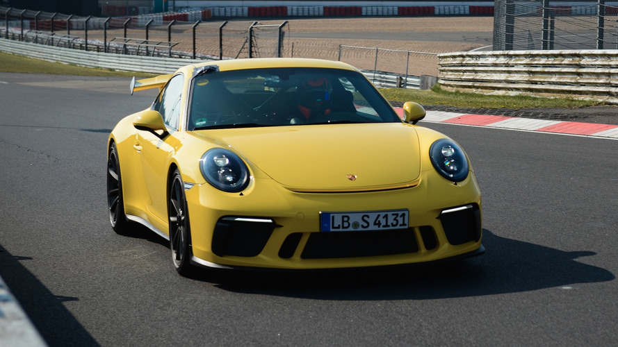 Porsche 911 GT3 Bests Its Own Nurburgring Lap Time [UPDATE]
