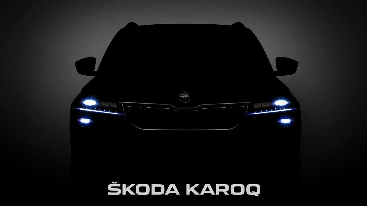 2018 Skoda Karoq teaser
