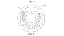 Ford Steering Wheel Patent