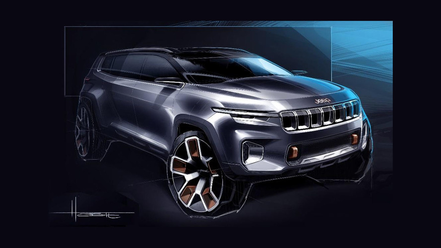 Jeep concept for the Shanghai Auto Show