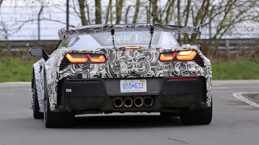 VIDÉO – La Corvette ZR1 de 700 chevaux se défoule