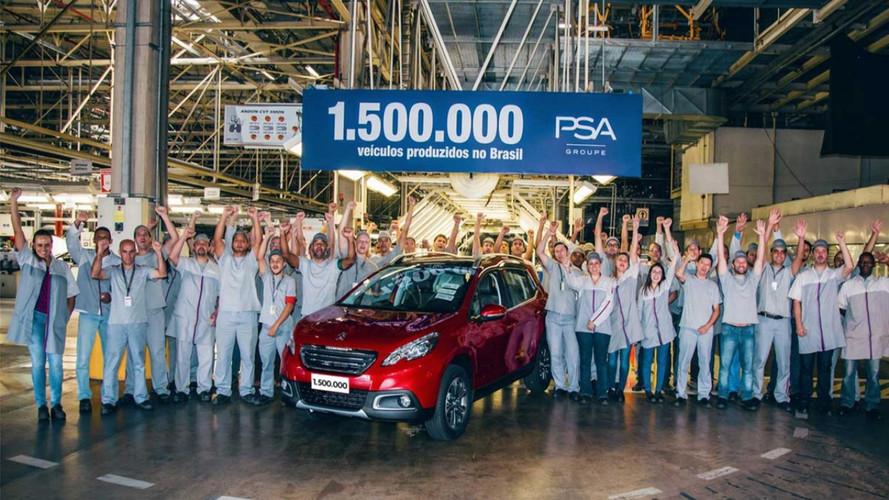 PSA Peugeot Citroën alcança 1,5 milhão de carros feitos no Brasil