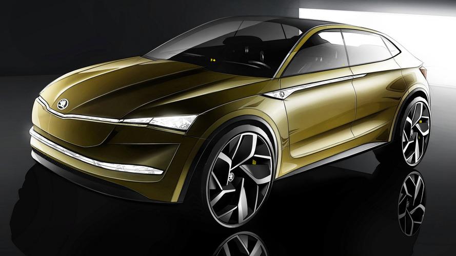 Concept Vision E - Le SUV électrique selon Škoda
