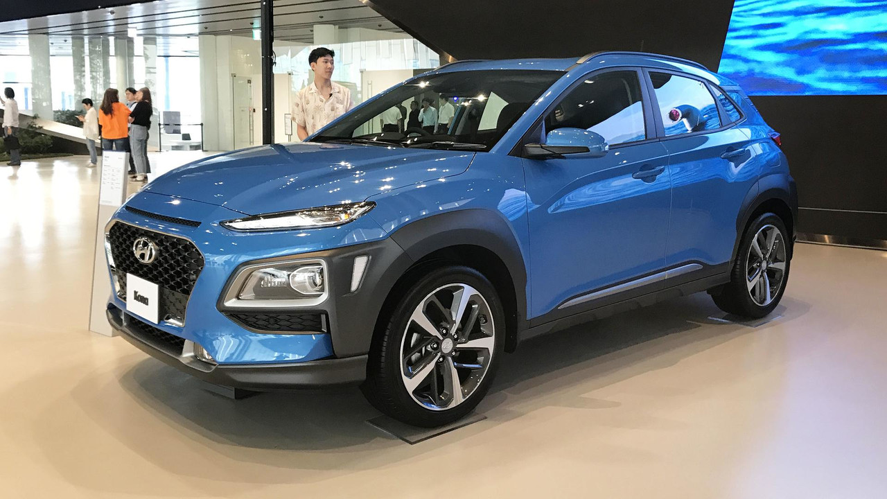 2018 hyundai kona live in seoul photos. Black Bedroom Furniture Sets. Home Design Ideas