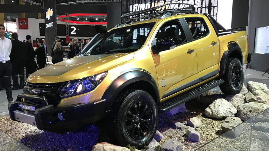 Chevrolet S10 Trailboss Concept Seeks Adventure In Latin America