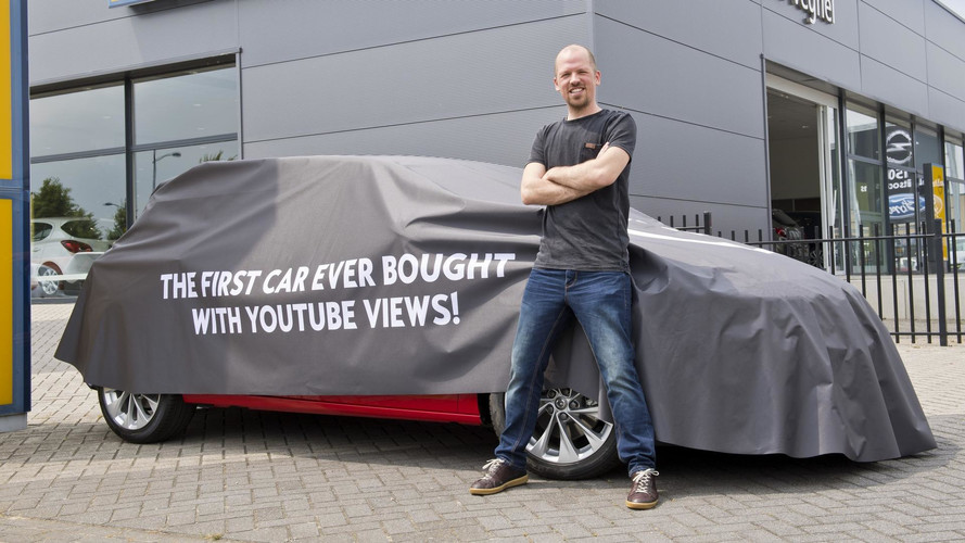 Opel Astra bought with YouTube views