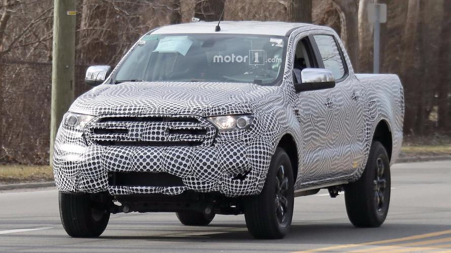 2019 Ford Ranger'ın gelişimi Amerika yollarında sürüyor