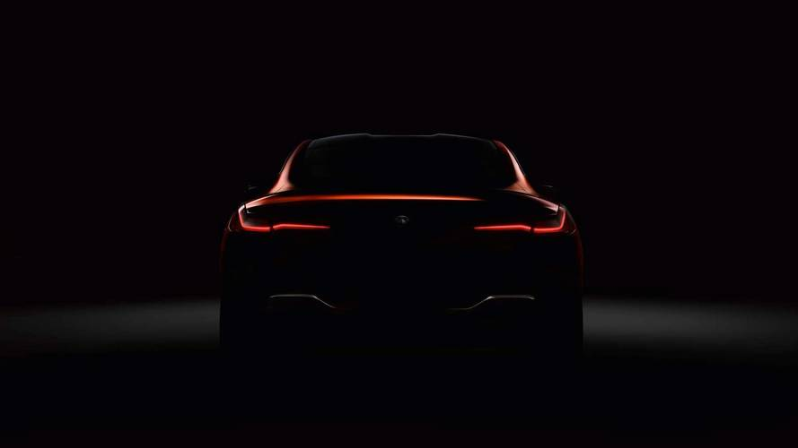 BMW Teases New 8 Series Online With Sinfully Sexy Silhouette