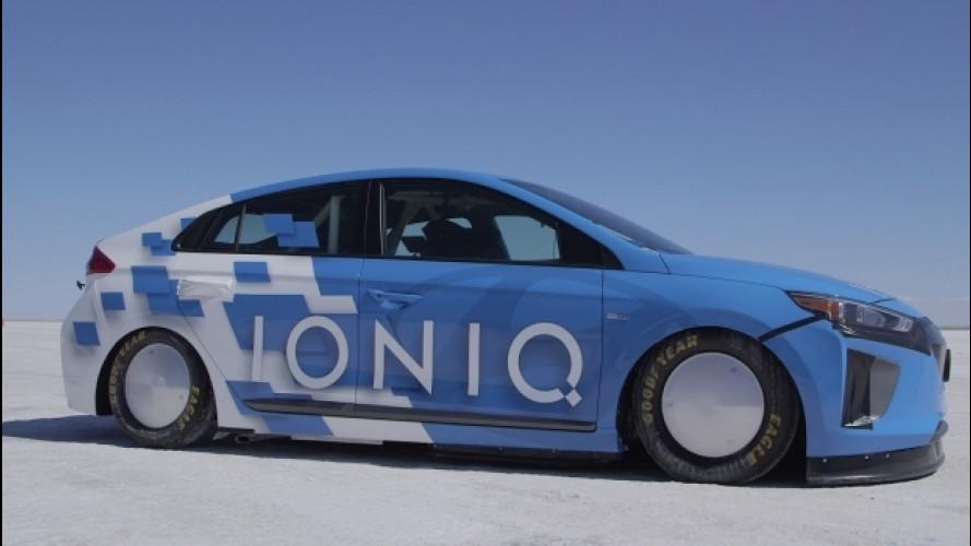 Hyundai Ioniq, è lei l'ibrida di serie più veloce al mondo