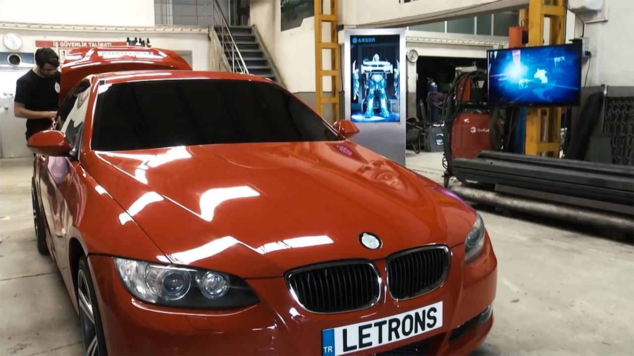 Antimon, la BMW Serie 3 Coupé che si trasforma