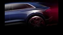 Audi Q8 Concept, i primi disegni