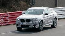 BMW X4 M New Spy Photos