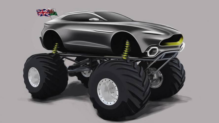 Aston Martin Project Sparta 1100 beygirlik bir Monster Truck