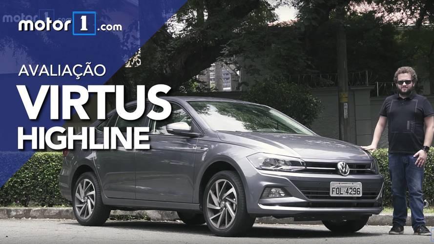 Vídeo - Como anda o VW Virtus Highline?