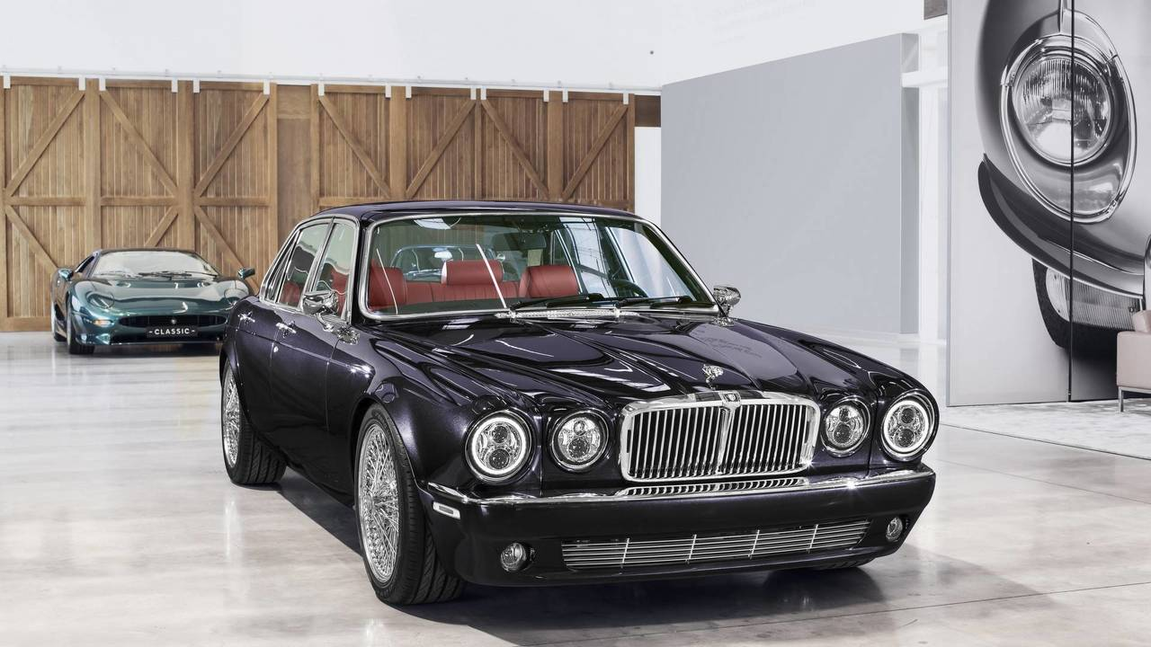 Jaguar XJ6 de Nicko McBrain