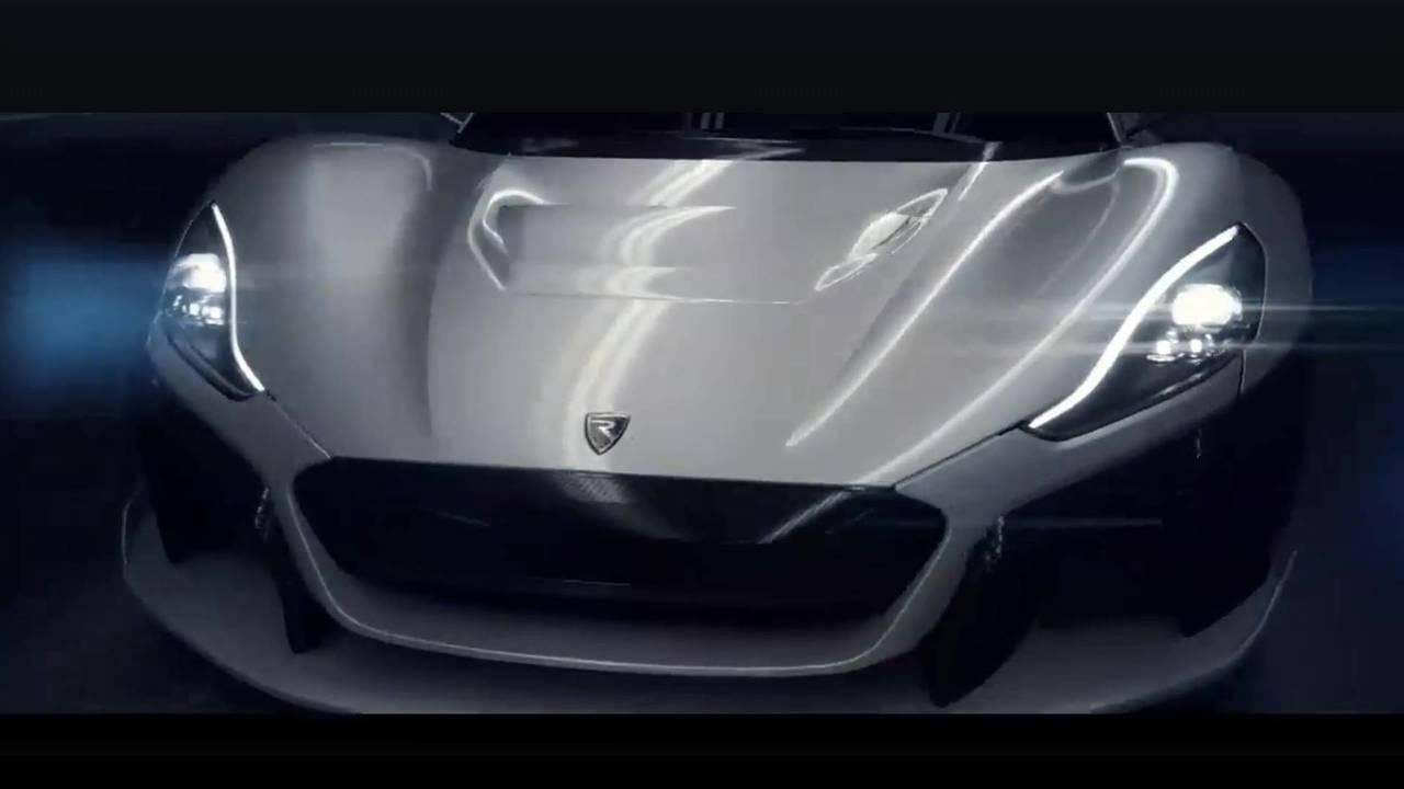 New Rimac electric supercar teaser