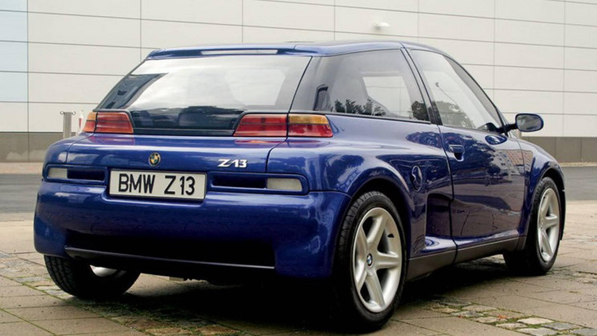 1993 BMW Z13: Concept We Forgot
