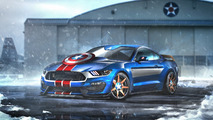 Captain America - Ford Mustang GT350R