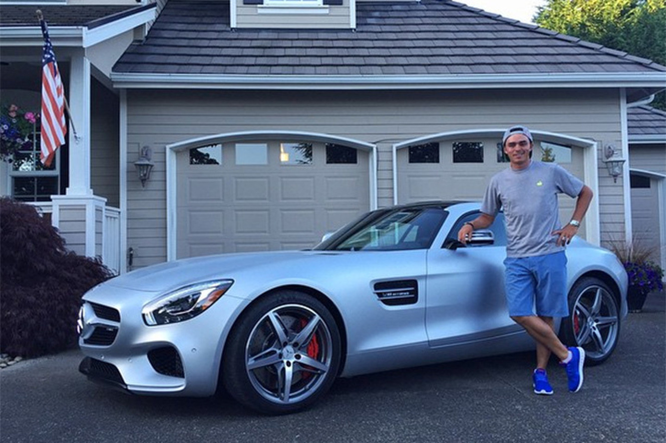 Rickie Fowler's Spotted With His Mercedes-AMG GT S