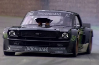Watch This Insane Mustang Get Away From Ken Block at Goodwood