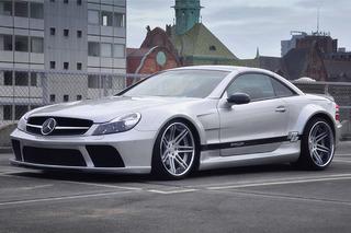 Jaw Dropper: Prior Design Mercedes-Benz SL Black Edition Widebody