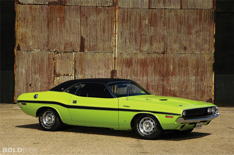 Bold School: 1970 Dodge Challenger