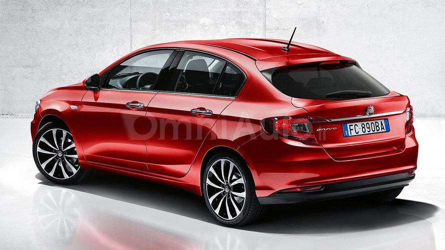 Fiat Bravo replacement rendered based on Aegea sedan