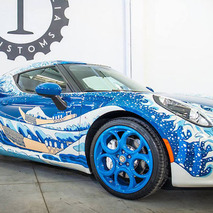 The Alfa Romeo 4C Makes A Great Canvas, Don't You Think?