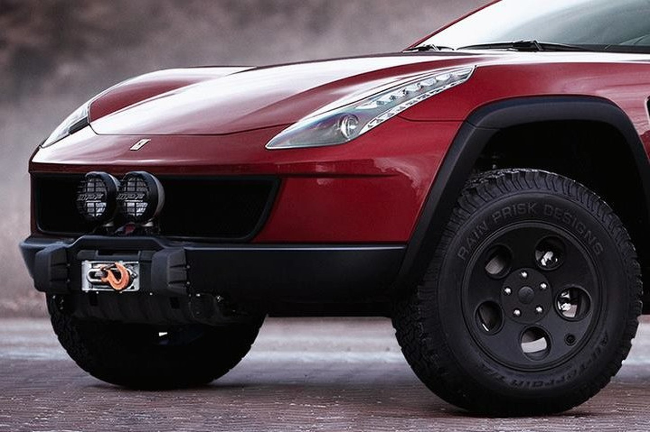 Ferrari FF Imagined as a 4x4 Off-Roading Machine