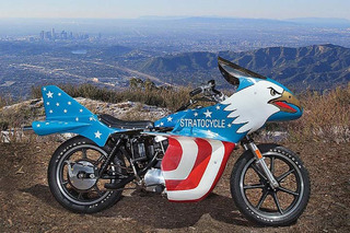 The Rare Evel Knievel Stratocycle Goes to Auction, and It's Not Cheap