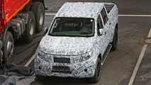Mercedes GLT spy photos
