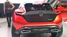 Nissan Gripz concept live in Frankfurt 2015