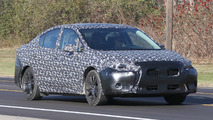 2017 Subaru Impreza spy photo