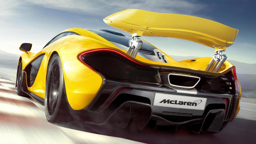 This is the McLaren P1 production version