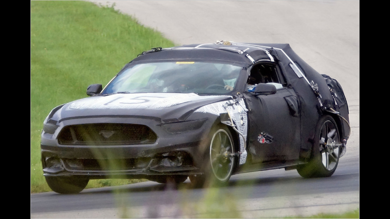 Erwischt: Ford Mustang