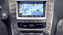 New Lexus Navigation System in Lexus IS Range