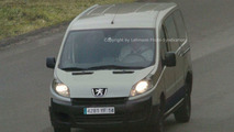 New Peugeot Partner Spy Photos