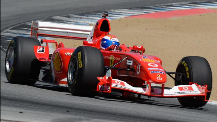 Marc Gené, record a Laguna Seca sulla Ferrari F2003 GA