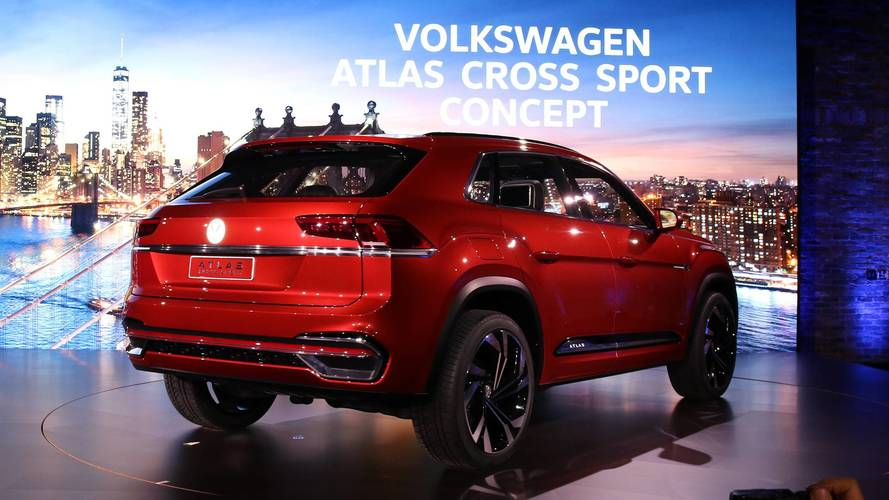 Mini Supercars For Sale >> Volkswagen Atlas Cross Sport concept photo