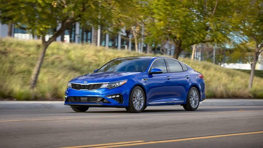 2019 Kia Optima Gets Very Minor Trim Refresh Tech Update