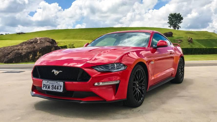 Esportivos mais vendidos - Mustang lidera pelo 2º mês seguido