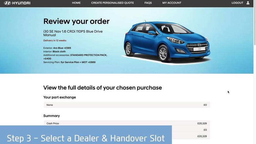 Hyundai Motor UK Click to Buy