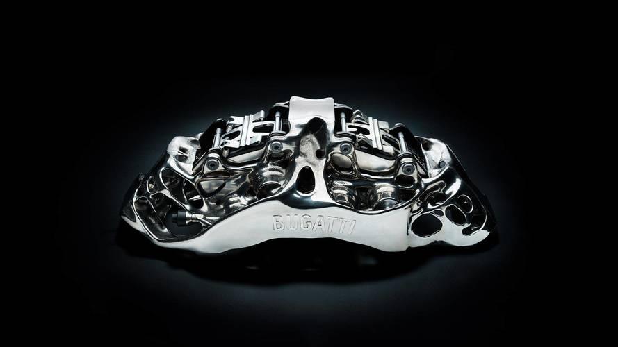 Bugatti 3D-Printed Brake Caliper